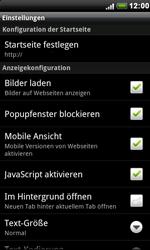 HTC S510e Desire S - Internet - Manuelle Konfiguration - Schritt 14