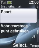 Nokia 2330 classic - E-mail - e-mail instellen: POP3 - Stap 24