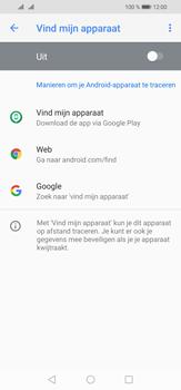 Huawei P30 Lite - Toestel - stel Zoek mijn mobiel in - Stap 5