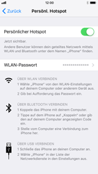 Apple iPhone 6s - Internet - Mobilen WLAN-Hotspot einrichten - 0 / 0