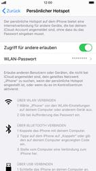 Apple iPhone SE (2020) - WiFi - So aktivieren Sie einen WLAN-Hotspot - Schritt 8