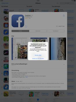 Apple iPad Pro 12.9 inch (Model A1671) - Applicaties - Account aanmaken - Stap 27