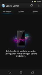 Sony Xperia Z - Software - Installieren von Software-Updates - Schritt 7