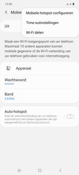 Samsung galaxy-s10-lite-dual-sim-sm-g770f - WiFi - Mobiele hotspot instellen - Stap 8