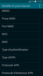 Samsung G850F Galaxy Alpha - Internet et roaming de données - Configuration manuelle - Étape 14