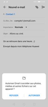 Huawei Y6P - E-mails - Envoyer un e-mail - Étape 11