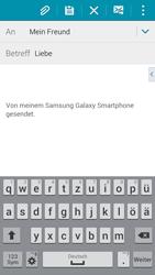 Samsung Galaxy Alpha - E-Mail - E-Mail versenden - 2 / 2
