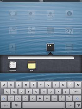 Apple iPad Retina - Operazioni iniziali - Personalizzazione della schermata iniziale - Fase 5