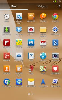 Samsung Galaxy Note 8-0 - Fehlerbehebung - Handy zurücksetzen - 5 / 11