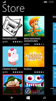 Microsoft Lumia 640 XL - Applicaties - Downloaden - Stap 4