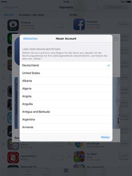 Apple iPad Pro 9.7 inch - Apps - Konto anlegen und einrichten - 19 / 35