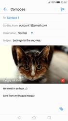 Huawei P10 - E-mail - Sending emails - Step 16