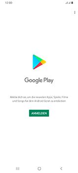 Samsung Galaxy A70 - Apps - Einrichten des App Stores - Schritt 4