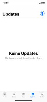 Apple iPhone XS - Apps - Nach App-Updates suchen - Schritt 5