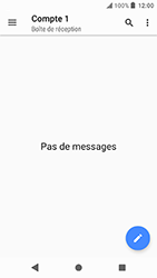 Sony Xperia X Compact - Android Oreo - E-mail - envoyer un e-mail - Étape 3