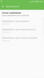 Samsung G925F Galaxy S6 edge - Android M - Anrufe - Rufumleitungen setzen und löschen - Schritt 11
