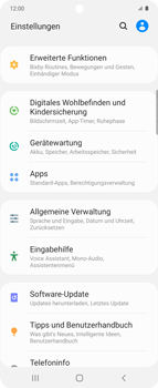 Samsung Galaxy Z flip - Software - Installieren von Software-Updates - Schritt 4