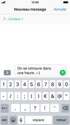 Apple iPhone 5s - iOS 11 - Contact, Appels, SMS/MMS - Envoyer un MMS - Étape 8