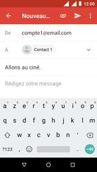 Nokia 1 - E-mail - Envoi d