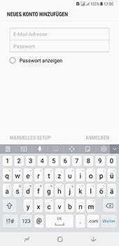 Samsung Galaxy A8 Plus (2018) - E-Mail - Konto einrichten - Schritt 7