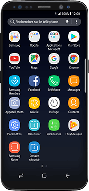 Samsung Galaxy Note 8 - WiFi - Activez WiFi Calling - Étape 2
