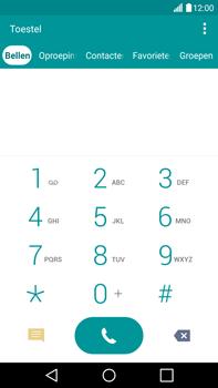 LG V10 - Voicemail - Handmatig instellen - Stap 4