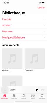 Apple iPhone 11 - Photos, vidéos, musique - Ecouter de la musique - Étape 4
