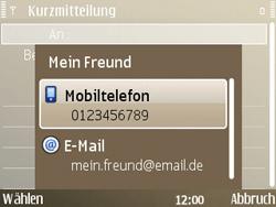 Nokia E72 - MMS - Erstellen und senden - Schritt 10