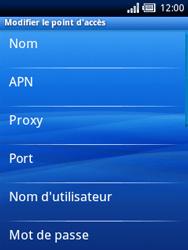 Sony Xperia X10 Mini - MMS - Configuration manuelle - Étape 8