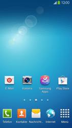 Samsung Galaxy S 4 LTE - Startanleitung - Installieren von Widgets und Apps auf der Startseite - Schritt 9