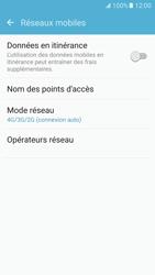Samsung G930 Galaxy S7 - Réseau - Changer mode réseau - Étape 5