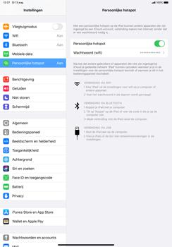 Apple ipad-pro-10-5-inch-met-ipados-13-model-a1709 - WiFi - Mobiele hotspot instellen - Stap 8