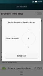 Huawei Y5 - Internet - Ver uso de datos - Paso 6