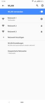 Sony Xperia 1 - WLAN - Manuelle Konfiguration - Schritt 9