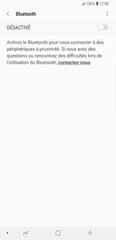 Samsung Galaxy S9 Plus - Bluetooth - Jumelage d