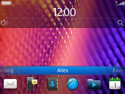 BlackBerry 9360 Curve - Internet - Handmatig instellen - Stap 1