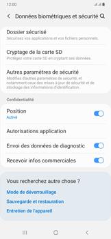 Samsung Galaxy A50 - Sécuriser votre mobile - Personnaliser le code PIN de votre carte SIM - Étape 5
