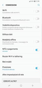 Samsung Galaxy S8 Plus - Internet e roaming dati - Disattivazione del roaming dati - Fase 5