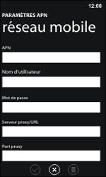 Nokia Lumia 800 / Lumia 900 - MMS - Configuration manuelle - Étape 9
