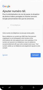 Samsung Galaxy S9 Plus - Applications - Configuration de votre store d