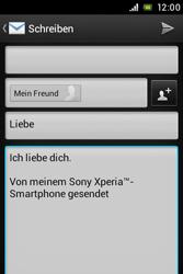 Sony Xperia Miro - E-Mail - E-Mail versenden - 9 / 14