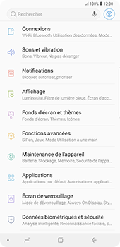 Samsung Galaxy Note9 - MMS - Configuration manuelle - Étape 4