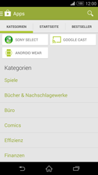 Sony Xperia Z3 - Apps - Installieren von Apps - Schritt 6