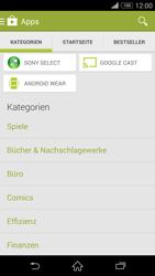 Sony Xperia Z3 Compact - Apps - Herunterladen - 6 / 20