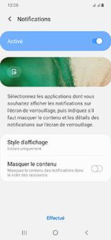 Samsung Galaxy A20e - Sécuriser votre mobile - Activer le code de verrouillage - Étape 11