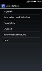 Alcatel Pop S3 - Internet - Manuelle Konfiguration - 0 / 0