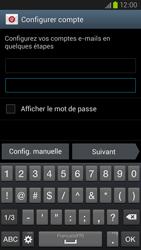 Samsung Galaxy S III LTE - E-mail - Configuration manuelle - Étape 6