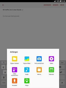 Samsung Galaxy Tab A 9.7 - E-Mail - E-Mail versenden - 1 / 1