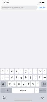 Apple iPhone 11 - iOS 14 - Internet et roaming de données - Navigation sur Internet - Étape 4
