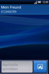 Sony Ericsson Xperia X8 - MMS - Erstellen und senden - Schritt 9